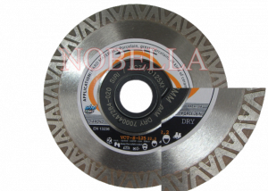 DIAMOND BLADE VCT-Е-125 WITH REINFORCEMENT FLANGES