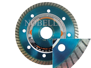 DIAMOND BLADE SPBA-S-125 WITH REINFORCEMENT FLANGES