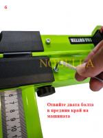РЪЧНА МАШИНА ЗА РЯЗАНЕ НА ГРАНИТОГРЕС 120 см